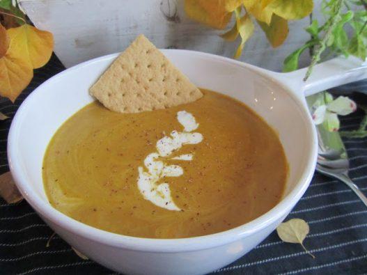 Pumpkin Pie Soup