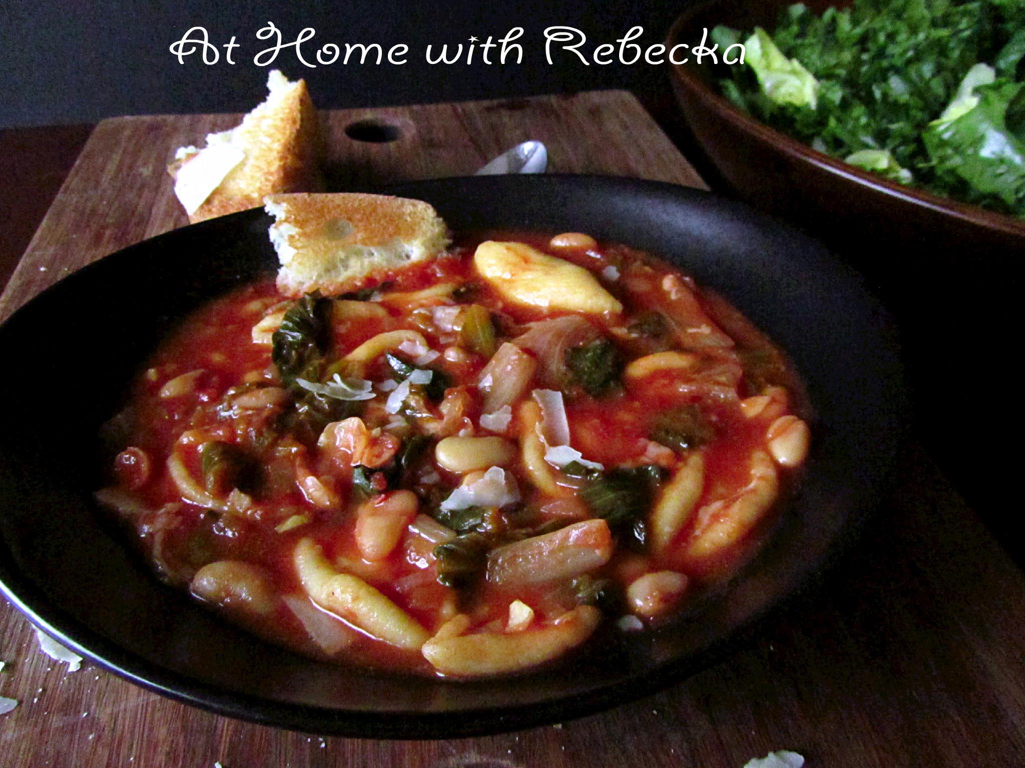 Italian Orecchiette Stew