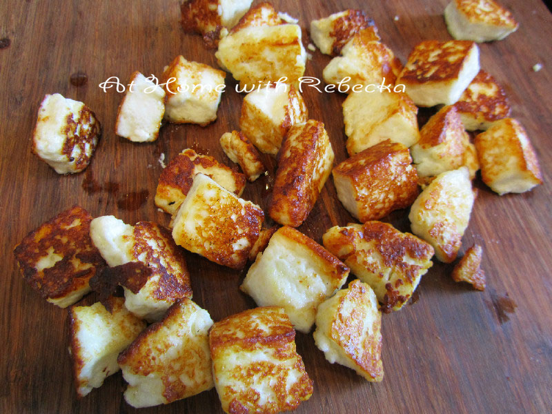 Cooked Paneer
