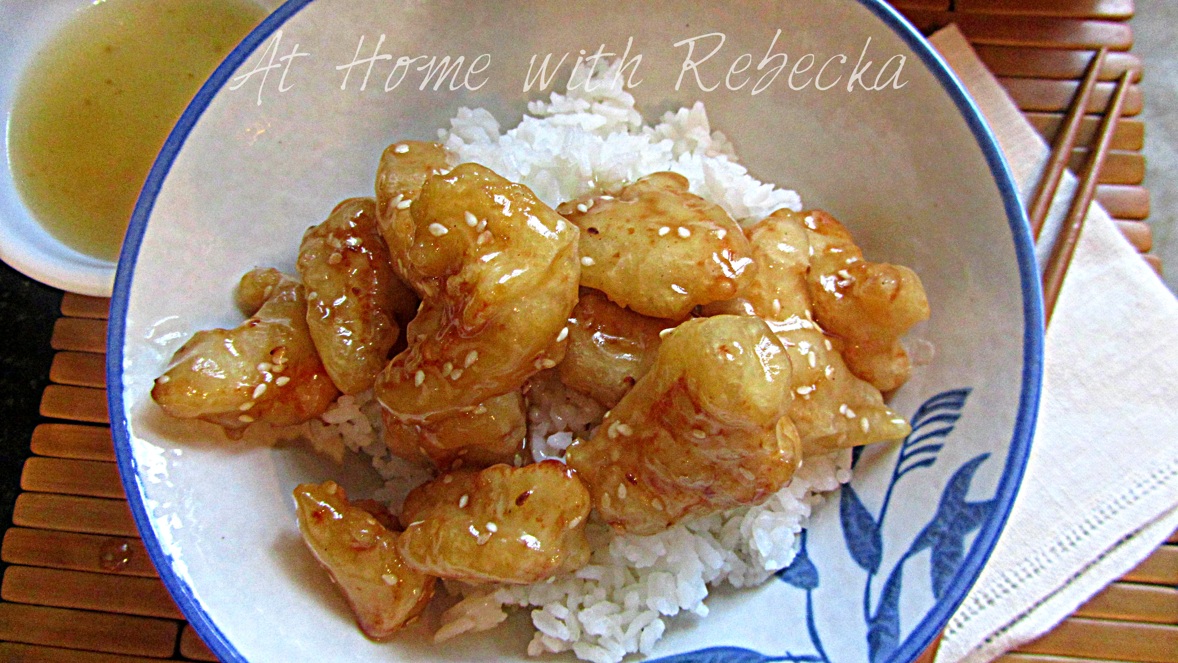 Chinese Honey Chicken Recipe - At Home with Rebecka