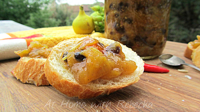 Fig and Tomato Chutney