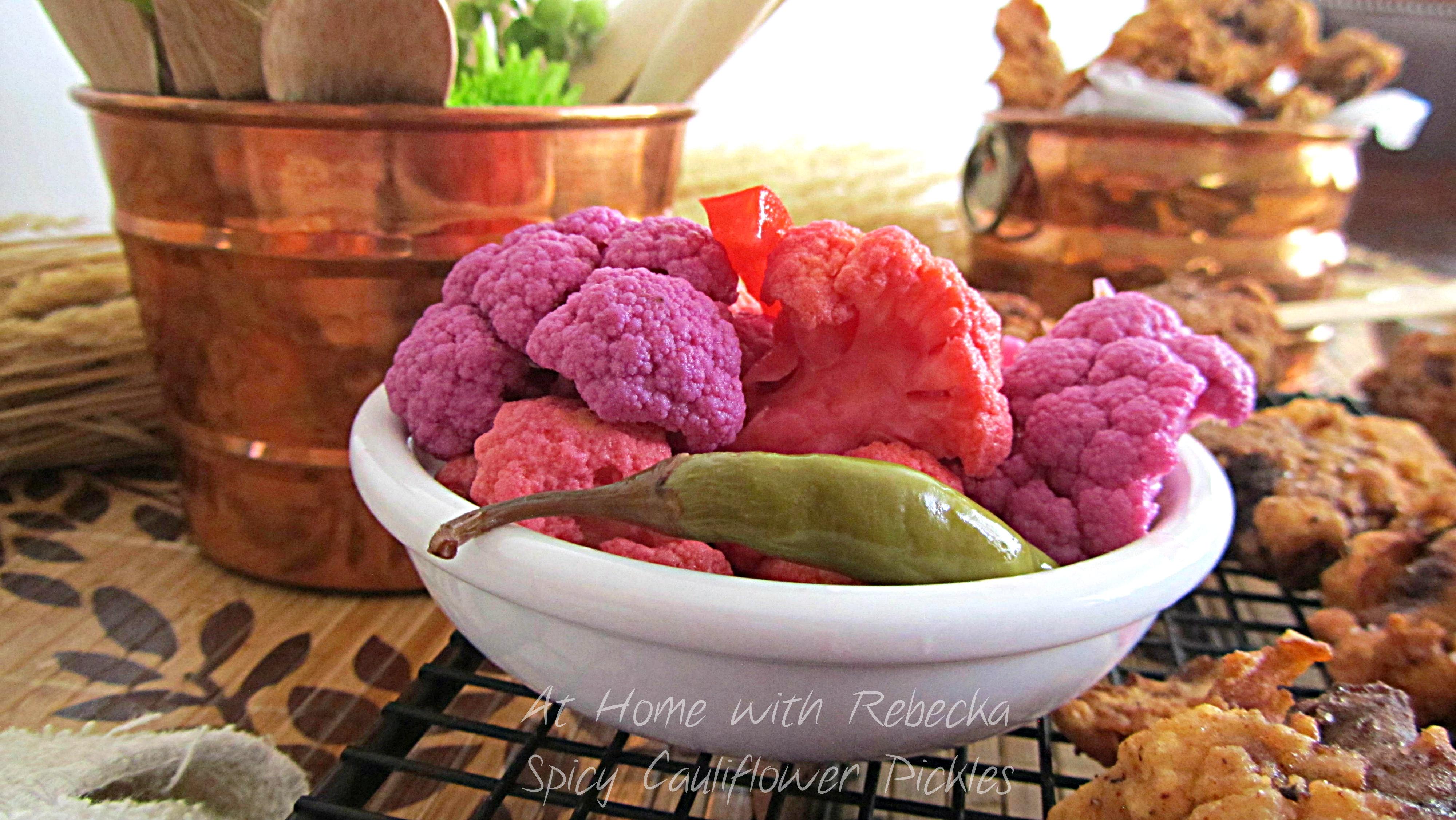 Spicy Cauliflower Pickles