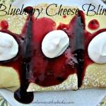 Blueberry Cheese Blintz