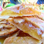 Butterscotch apple pie cookies bring the taste of apple pie to a homemade cookie recipe! Fresh apples are the star of this easy dessert recipe.