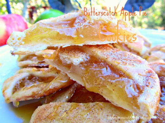 Butterscotch apple pie cookiesbring the taste of apple pie to a homemade cookie recipe! Fresh apples are the star of this easy dessert recipe.