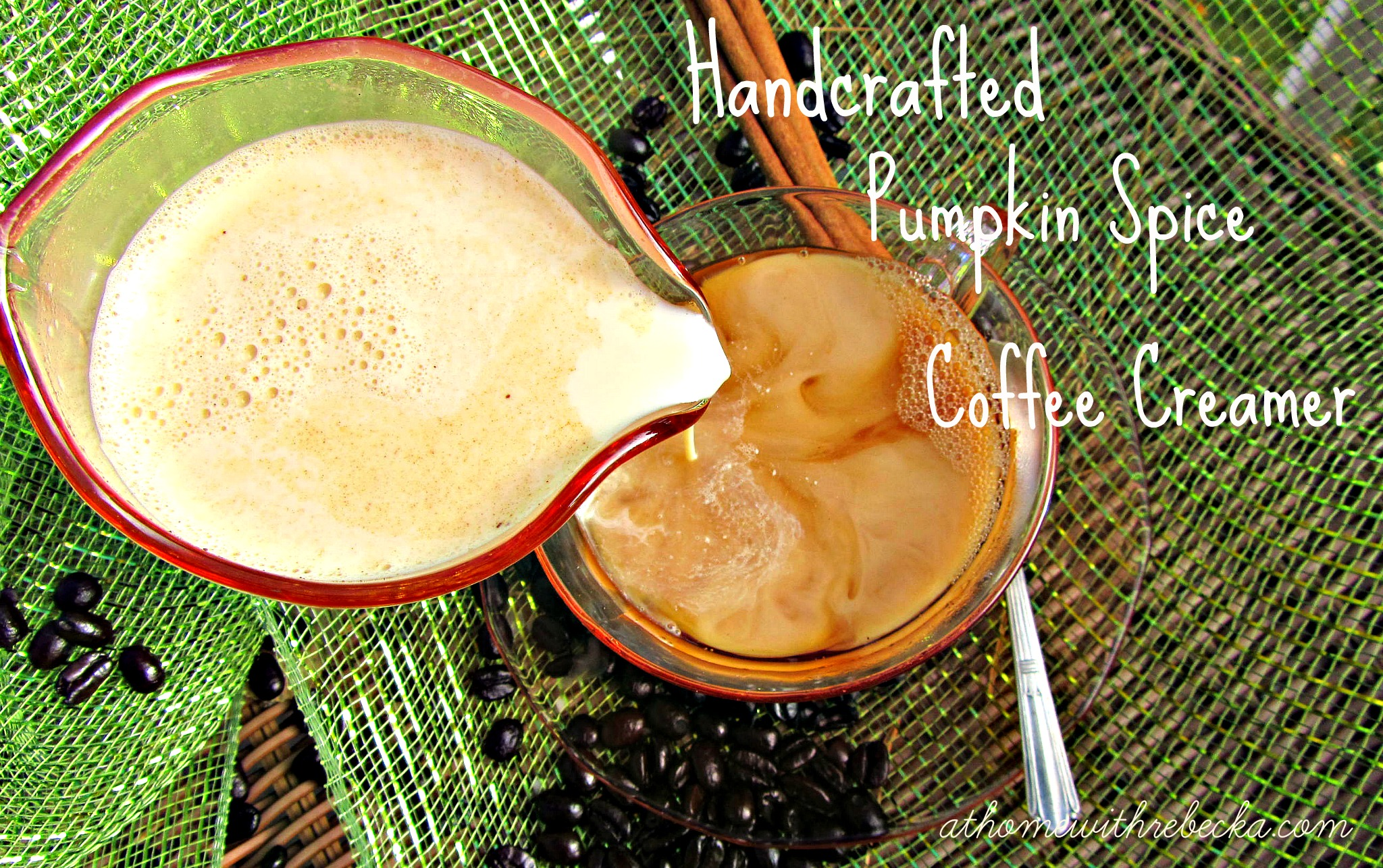 Handcrafted Pumpkin Spice Coffee Creamer