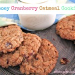 Cranberry oatmeal cookies are super chewy, with a sweet-tart contrast. The tart cranberries balance the rich sweetness of the dough perfectly.