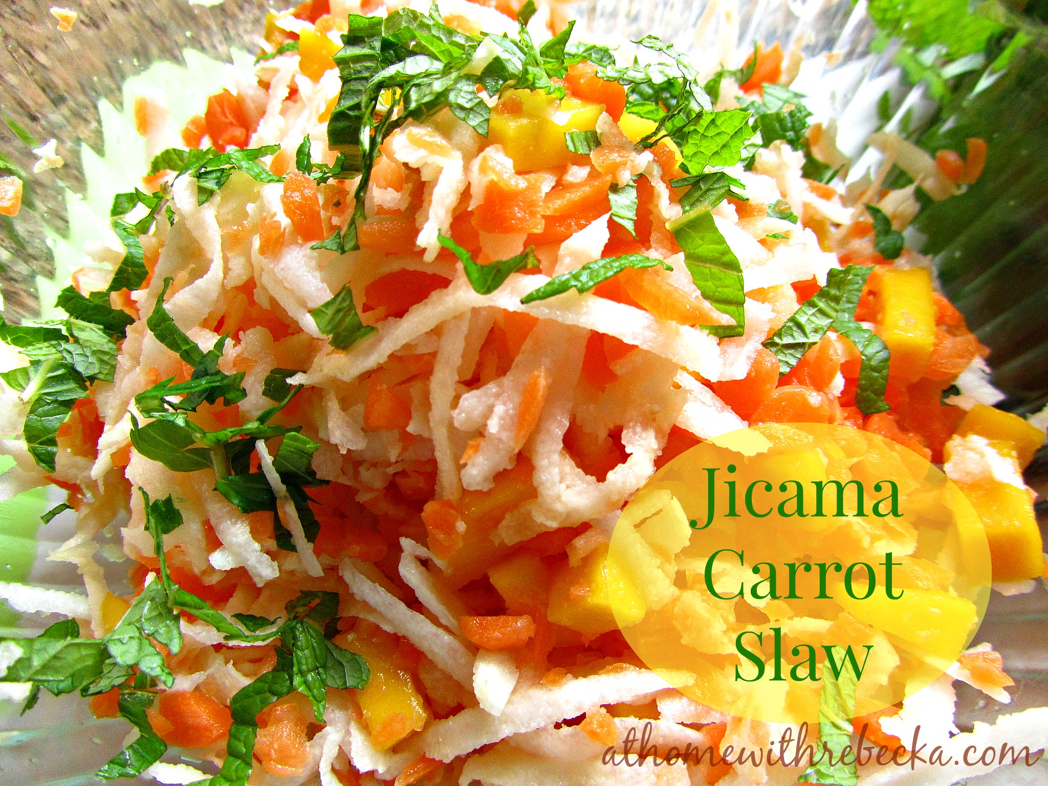Jicama Carrot Slaw