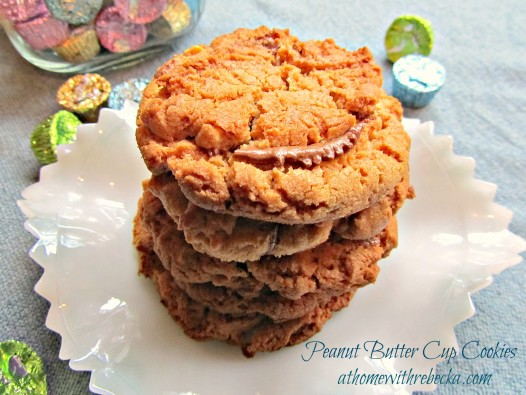 Peanut Butter Cup Cookies {Stuffed Peanut Butter Cookies}