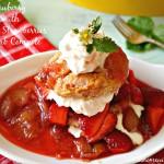 Sweet Strawberry Shortcake Biscuits