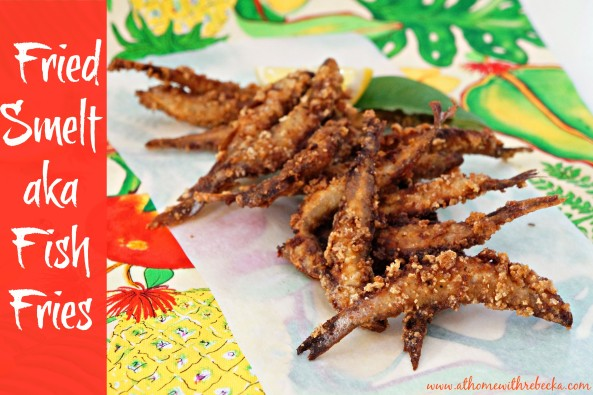 Fried smelt {fish fries}are a delicious preparation for fresh smelt, also perfect to serve as an appetizer or game day food.