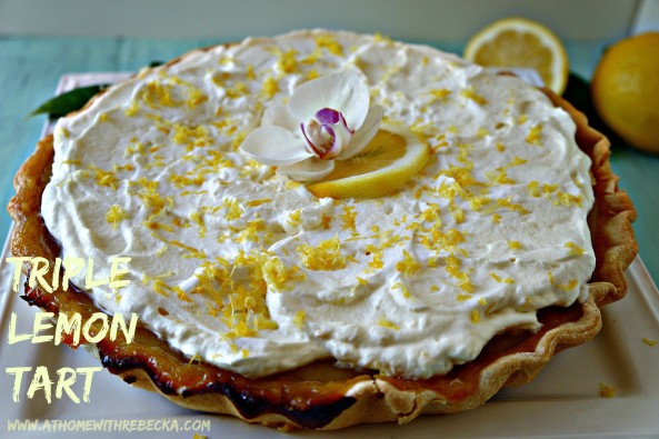 Triple Lemon Tart