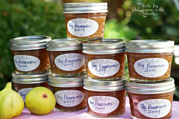 Canning Fig Preserves