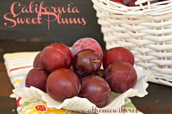 Fresh Plums for Jam