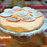 Orange Cream Cheesecake made with MilkSplash Flavoring
