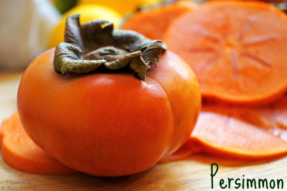 Fresh persimmon, for making persimmon butter