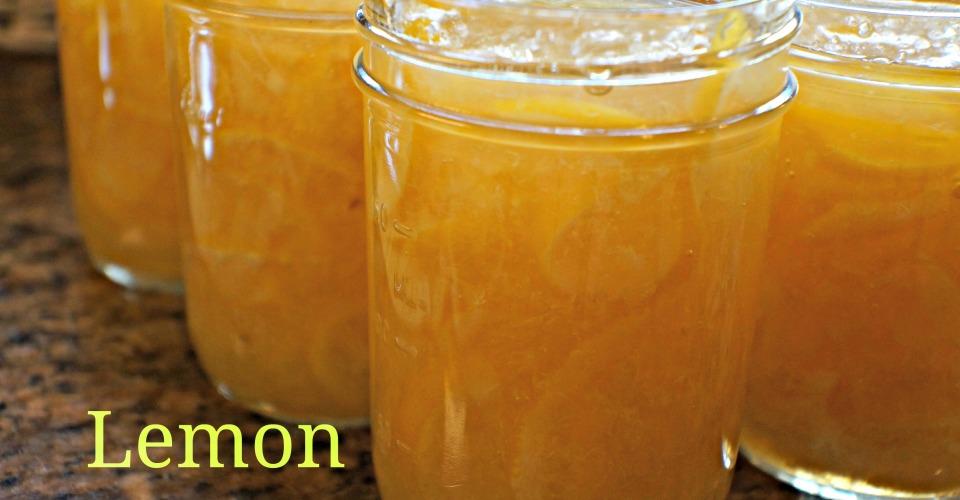 Lemon Marmalade-Canning for Christmas