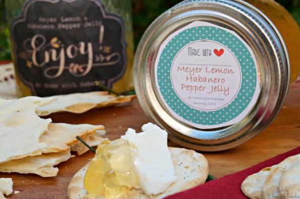 Meyer Lemon Habanero Pepper Jelly