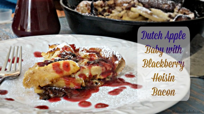 Dutch Apple Baby with Hoison Blackberry Bacon