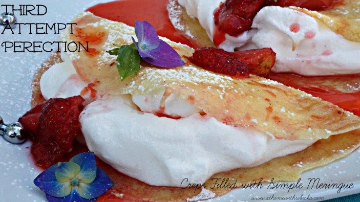 Meringue Crepe Perfection
