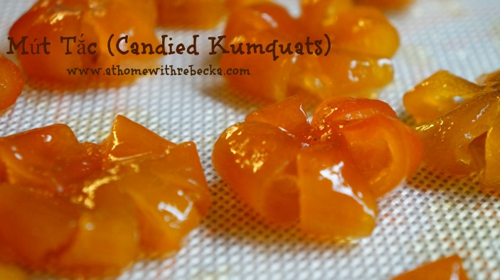Vietnamese Candied Kumquats