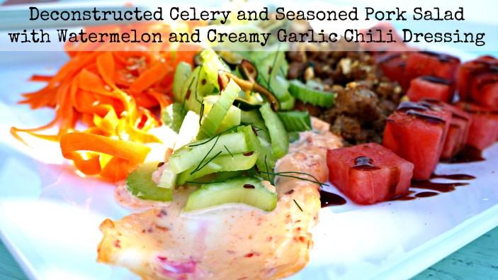 Spiced Pork Salad