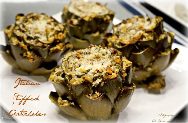 italian stuffed artichoke