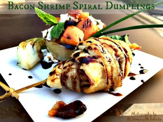 Bacon Shrimp Dumplings