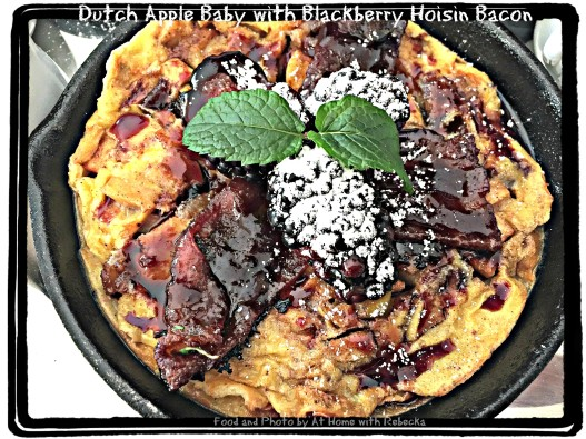 Dutch Apple Baby with Blackberry Hoisin Bacon Recipe