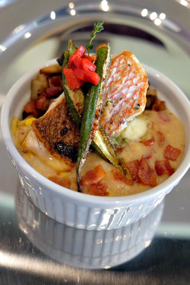 Bacon Infused American Red Snapper - World Food Championships 2015 4th Place Winner