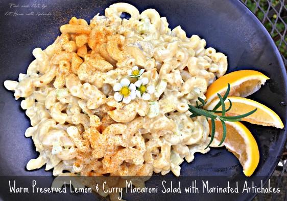 Warm Macaroni Preserved lemon