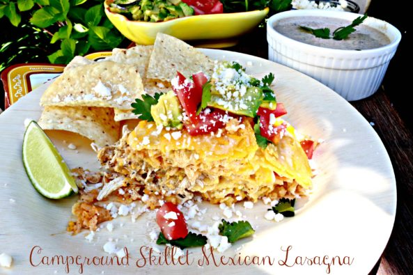 Best Campground Skillet Mexican Lasagna1