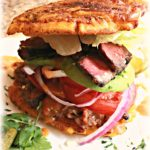 Jibarito Flatiron Steak Spicy Sauce