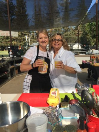 Gilroy Garlic Festival Barbara Orth Rebecka Evans Photo by Lisa Keys