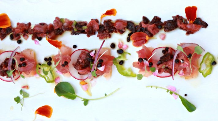 Montmorency Tart Cherry Crudo Recipe