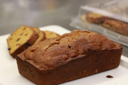 Cranberry Pumpkin Loaf, made by Chef Ave Marie