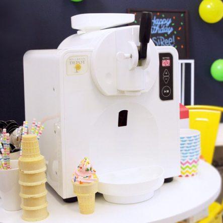 Automatic self-serve ice cream machine, from Ice Cream Depot