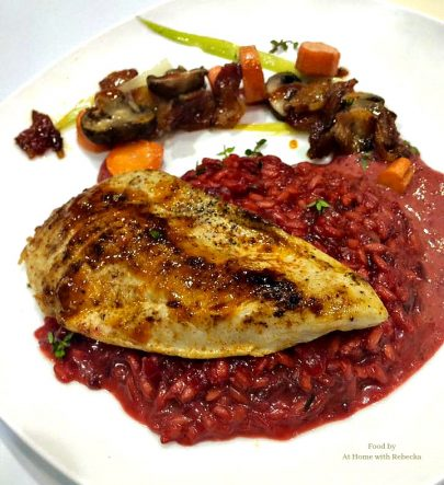 Red beet risottois a savory rice side dish made from fresh red beets and arborio rice. Beet risotto comes together in about 30 minutes