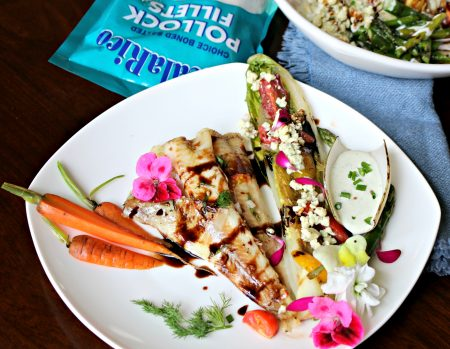 Grilled Alaskan Pollock Fillets