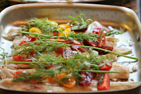 Roasted Vegetables with Fresh Dill