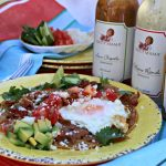 Saucy Mama inspired Huevos Rancheros