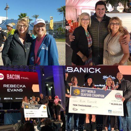 Kim Banick and Rebecka Evans win World Food Championships 2017