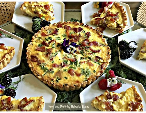 Three Cheese Quiche Lorraine WFC 2017