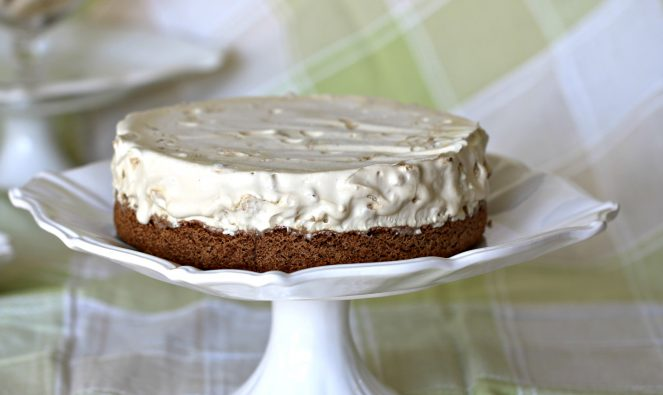 mocca meringue cake becks