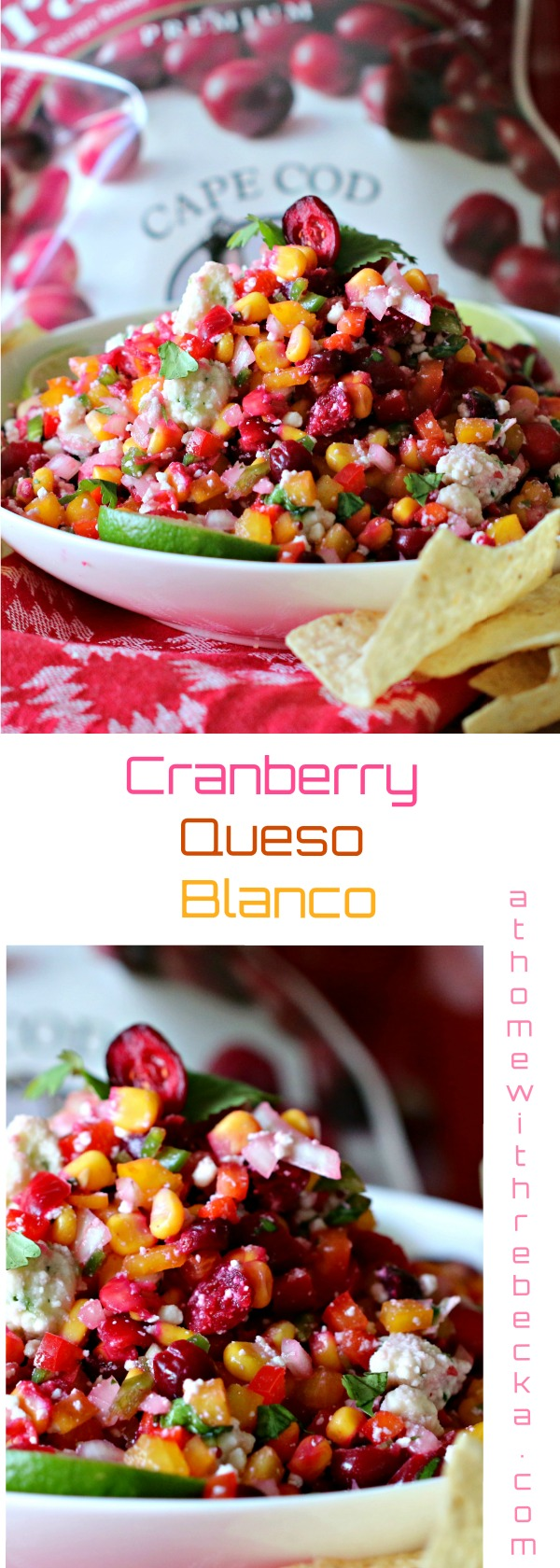 Cranberry Queso Blanco Salsa