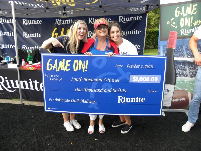 Riunite Winner South Regional Finals