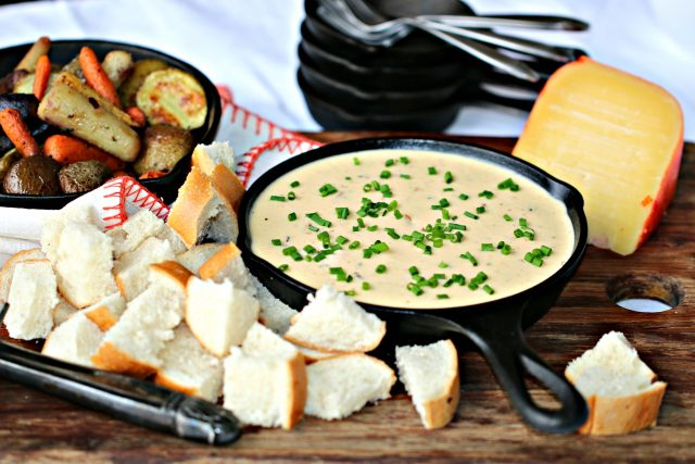 Menorca Cheese Fondue Recipe