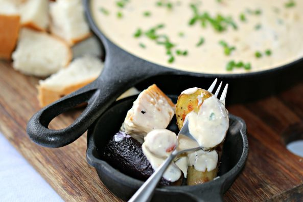 Menorca Cheese Fondue Recipe