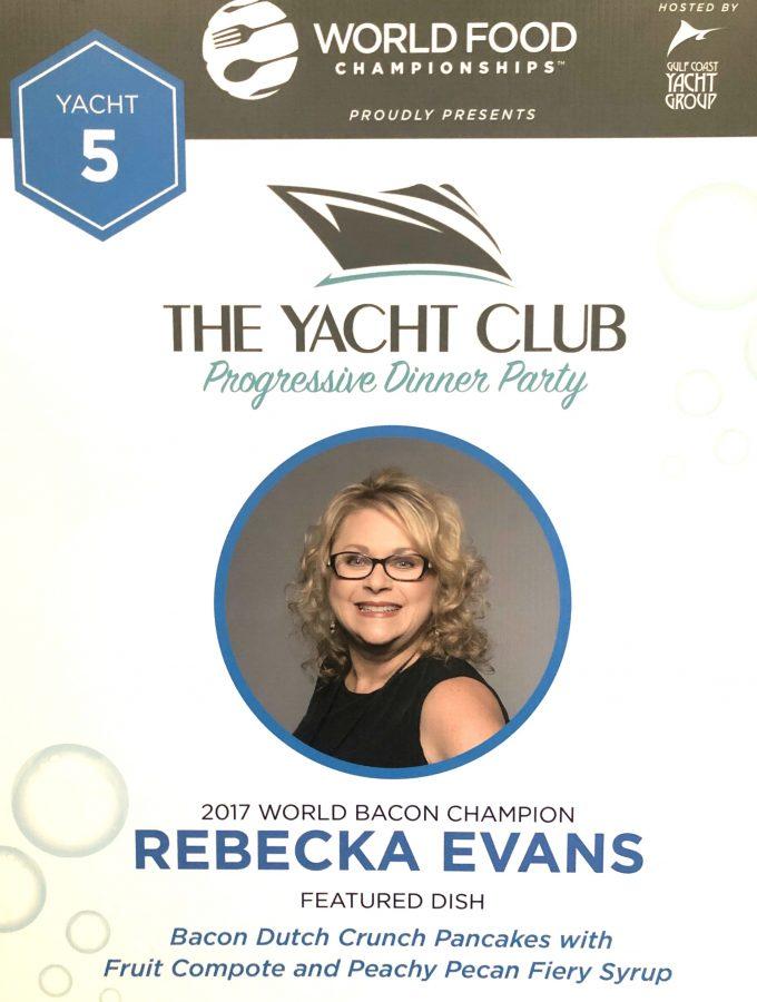WFC 2018 Yach Club Head Shot Rebecka Evans