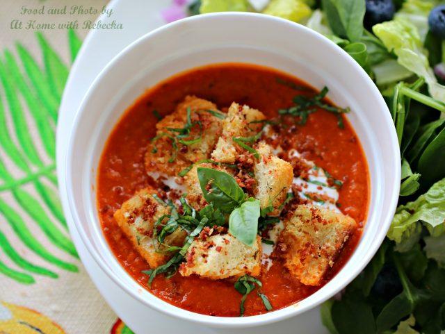 Sriracha Tomato Soup